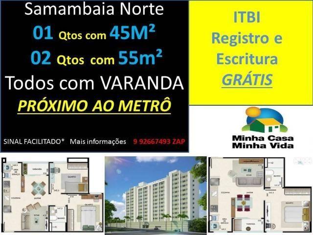 Apartamento em Samambaia , de 2 quartos Pronto pra Morar