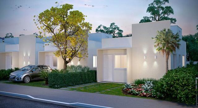 Vendo casa 2/4 em condomínio fechado na região do Jardim Cruzeiro - Foto 3