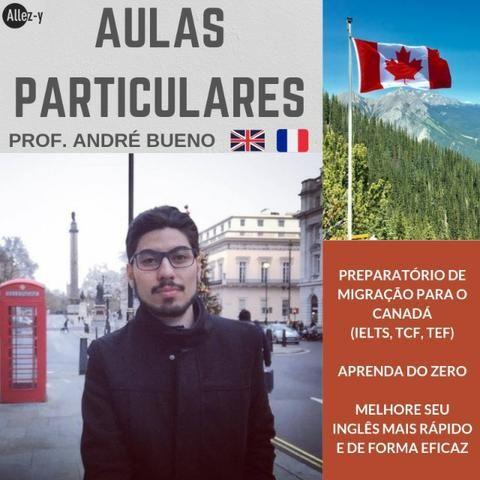 Professor Particular de Inglês e Francês (com diplomas internacionais) aulas particulares