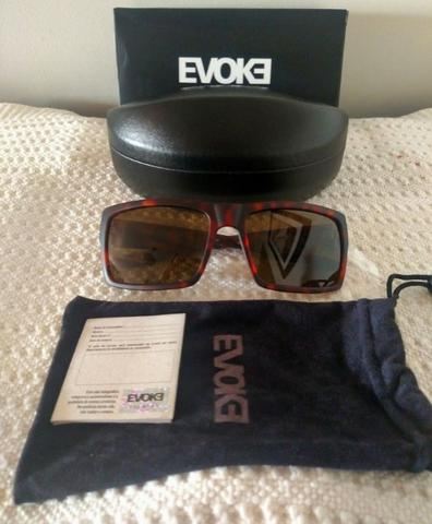 265673b45 Óculos Sol Evoke Code 2 Havana Marrom Novo Nota Fiscal + garantia ...