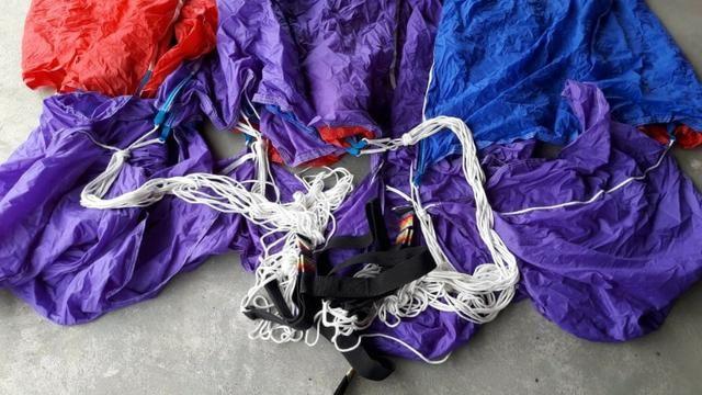 Parasail 26 pés com cadeira e 50 m corda, novo - Foto 2