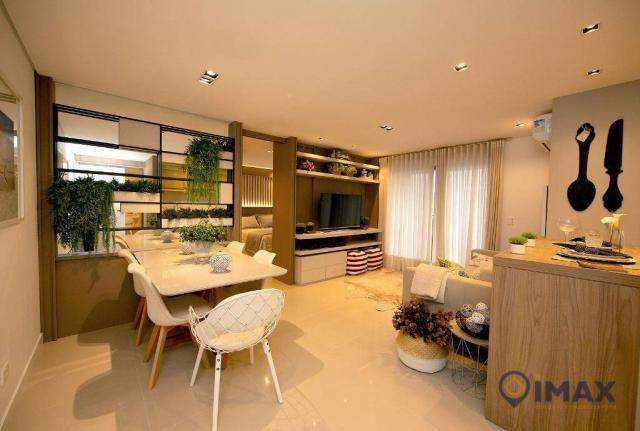 Studio com 1 dormitório à venda, 55 m² por R$ 259.836,24 - Centro - Foz do Iguaçu/PR