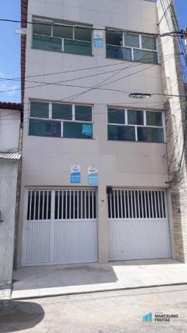 Apartamento com 2 dormitórios para alugar, 50 m² por r$ 559,00/mês - jacarecanga - fortale - Foto 2