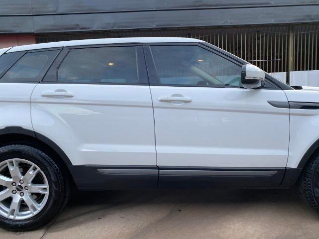 Range Rover Evoque Branca Interior Caramelo - Foto 7