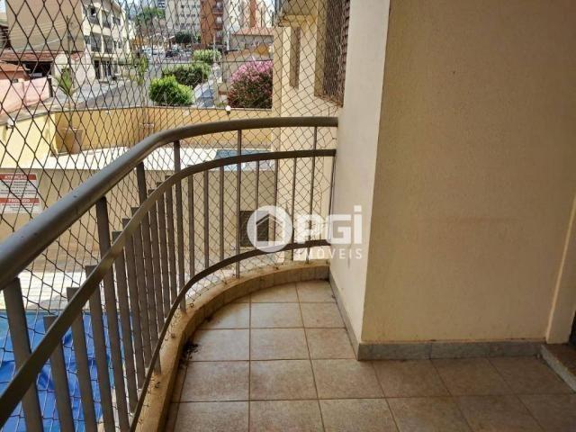 Apartamento com 2 dormitórios para alugar, 82 m² por R$ 1.100/mês - Santa Cruz - Ribeirão  - Foto 3