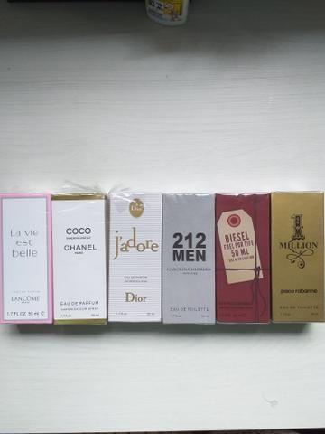 Perfumes primeira linha! Queima de estoque
