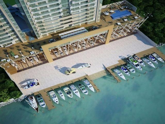 O Marina Beach Towers é o único da América do Sul com uma marina exclusiva, totalmente equ - Foto 3