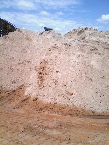 Areia fina industrial a ecologicamente correta 09 toneladas