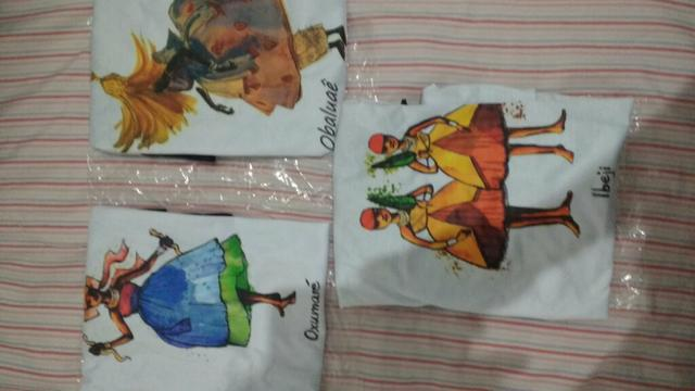 Camisetas orixás da umbanda sagrada