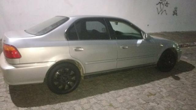 Honda Civic 2000 Emplacado - Foto 3