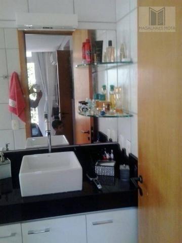 Apartamento com 3 dormitórios à venda, 80 m² por R$ 450.000 - Cocó - Fortaleza/CE - Foto 14