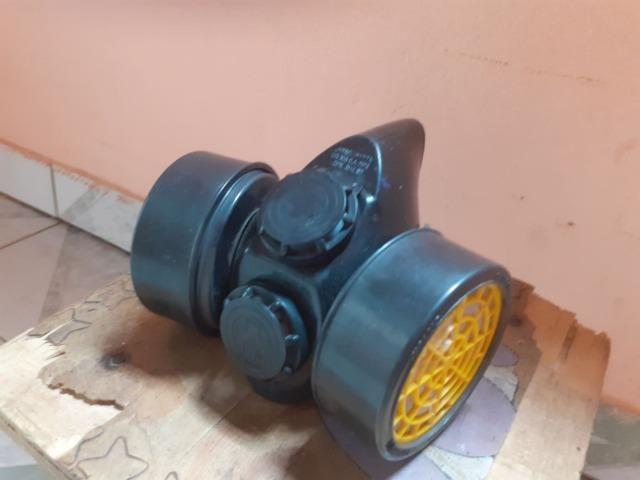 Mascara respirador com dois filtros R$ 40,00 - Foto 2