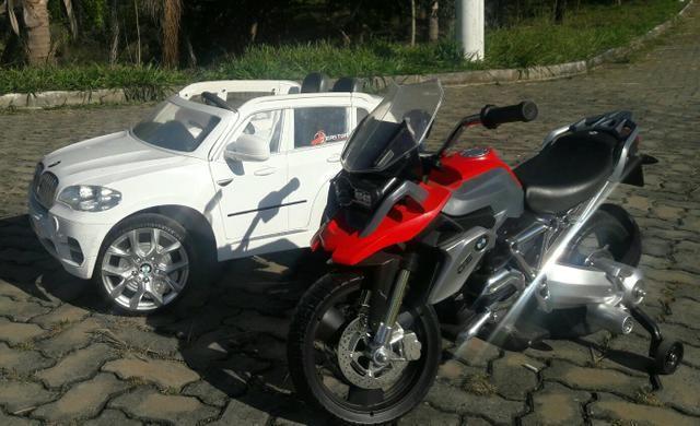 Carro e Moto Eletrica