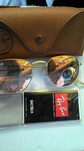 Óculos Hexagonal Rosa Lente de Cristal G - Bijouterias, relógios e ... 31e3399b9f