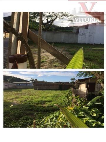 Terreno em Matinhos, Frente para duas ruas - Foto 4