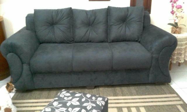 Vendo sofá 3 lugares novo