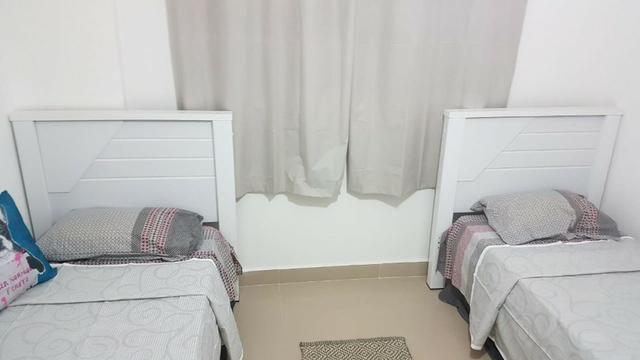 (Thamir) Apartamento 2 dormitórios 150 metros da praia, no bairro da Guilhermina - Foto 9