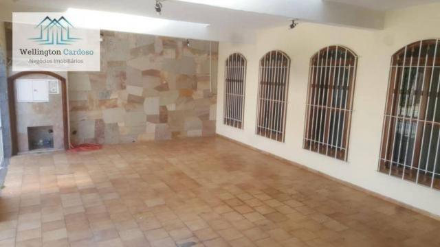 Sobrado com 4 dormitórios para alugar, 339 m² por R$ 5.000/mês MAIS IPTU DE R$350,00 - Jar - Foto 7