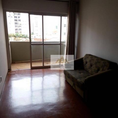 Apartamento com 1 dormitório para alugar, 69 m² por R$ 750,00/mês - Centro - Ribeirão Pret - Foto 2