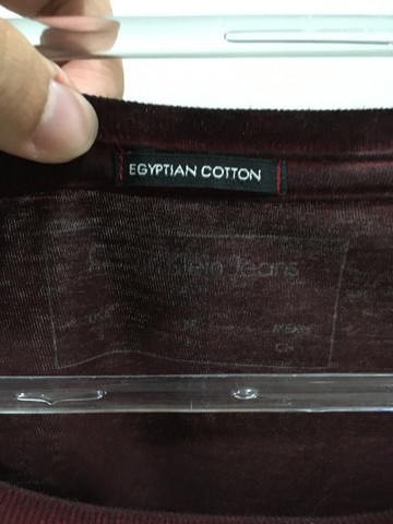 Camiseta maga longa Calvin Klein original - Tamanho P - Foto 2