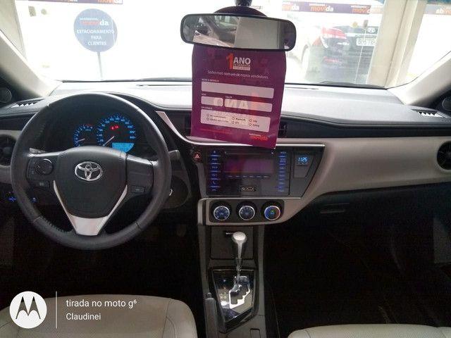 Toyota Corolla GLi Upper 1.8 flex AUT R$ 81.500,00 2019/2019 - Foto 2