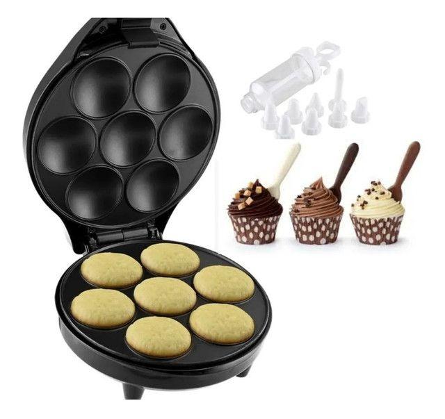 Maquina De Cupcake Britania Antiaderente Usado Apenas uma Vez - Foto 2