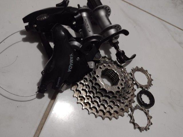 Peças de Bicicleta Semi novas - Foto 4