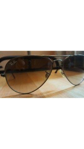Óculos aviador ray ban  - Foto 3