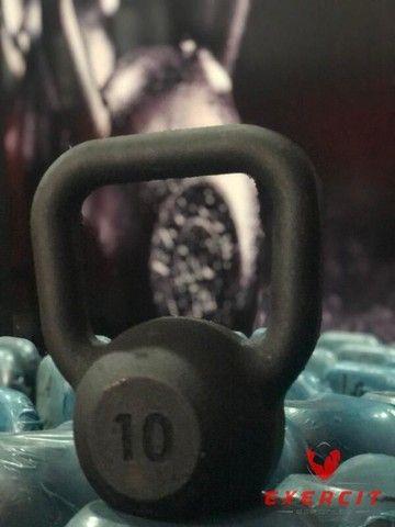 Kettlebell Ferro Pintado 10 kg