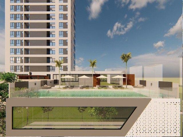 Apartamento em construção, 03 suítes, piscina, varanda, 03 vagas de garagem privativas, Ba - Foto 16