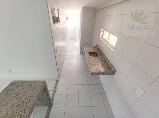 Apartamento com 3 dormitórios à venda, 81 m² por R$ 455.000 - Edson Queiroz - Fortaleza/CE - Foto 12