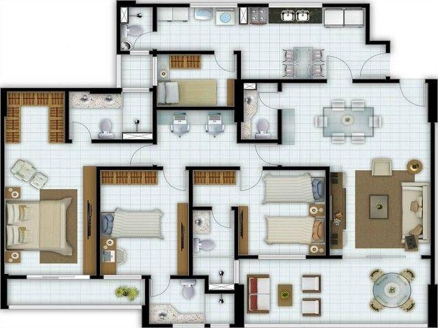 Apartamentos novos no Condomínio Broadway, vizinho ao Shopping Riomar. - Foto 4