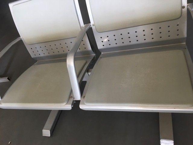 Longarina 2 lugares reforçada até 200Kg por assento  - Foto 4