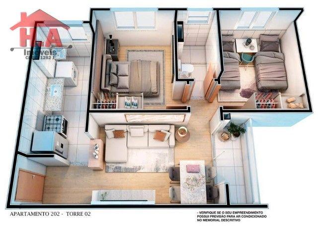 Apartamento à venda, 60 m² por R$ 189.690,00 - Passaré - Fortaleza/CE - Foto 14