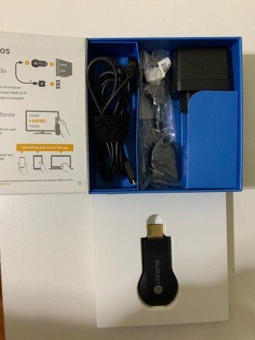 Vendo Chromecast Novo - Foto 3