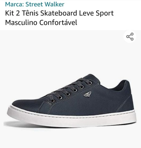 Vendo Kit 2 tênis  - Foto 4