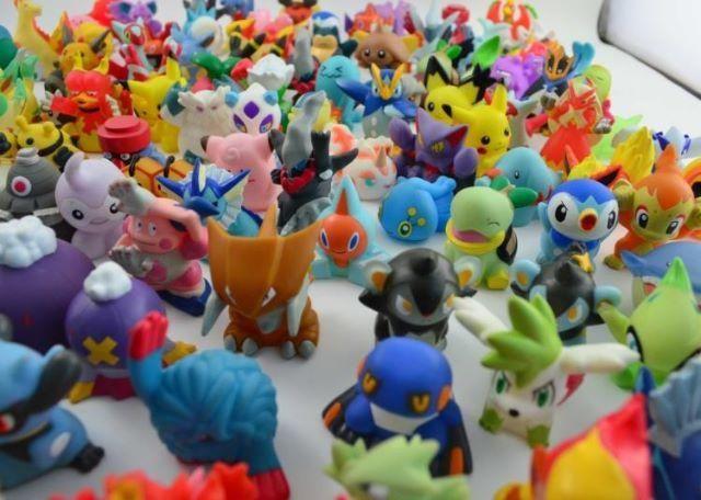 Miniaturas pokemon kit com 24 unidades coleção - Foto 4