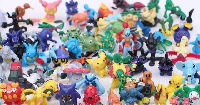 Miniaturas pokemon kit com 24 unidades coleção - Foto 3