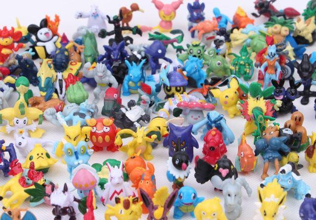 Miniaturas pokemon kit com 24 unidades coleção - Foto 2