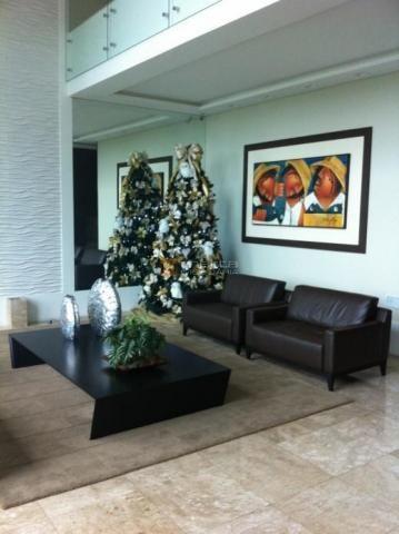 Apartamento com 168 m², alto padrão, luxuoso, acabamento top na famosa av. beira mar com v - Foto 2