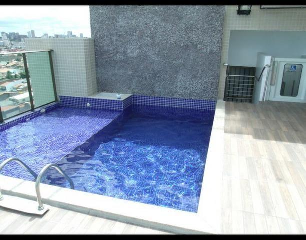 Apartamento 2 quartos nascente na Pajuçara - 1ª quadra da praia