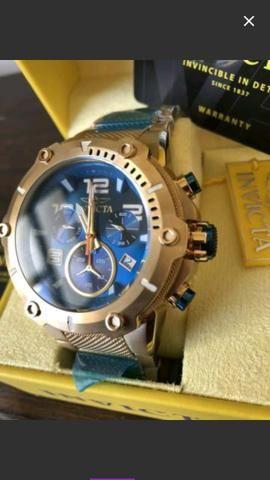 Relógio invicta original novo nunca foi usado