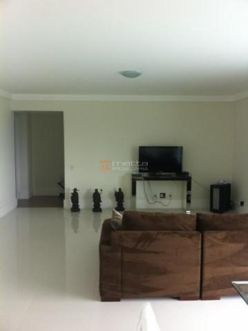 Apartamento com 168 m², alto padrão, luxuoso, acabamento top na famosa av. beira mar com v - Foto 5