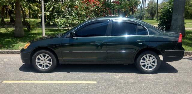 Honda Civic Ex 1.7  Aut (completo) 2002
