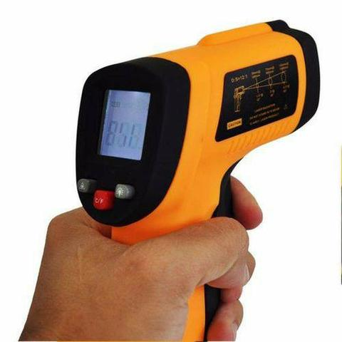 Termômetro Digital Infravermelho Mira Laser -50º A 380ºC - Foto 3