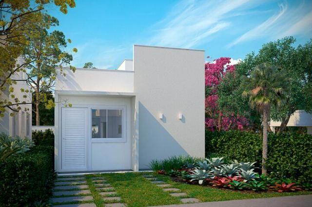 Vendo casa 2/4 em condomínio fechado na região do Jardim Cruzeiro - Foto 2