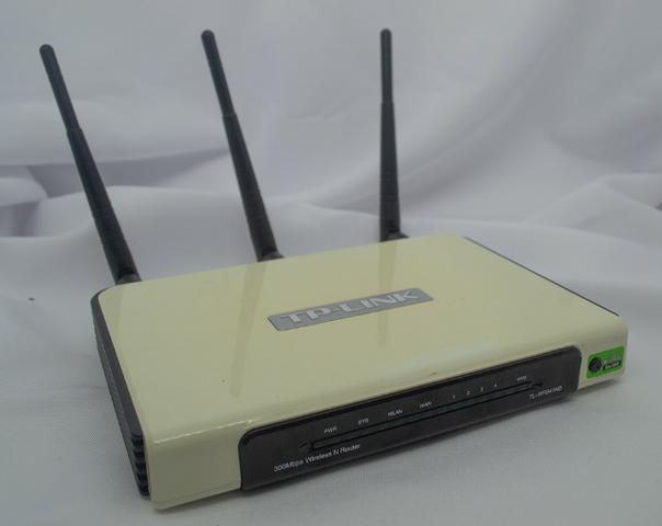 Roteador Tp-link 300mbps Wireless N Router Tl-wr941nd - usado