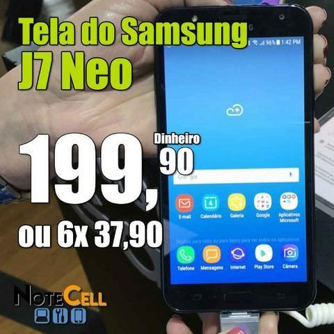 Tela do J7 Neo