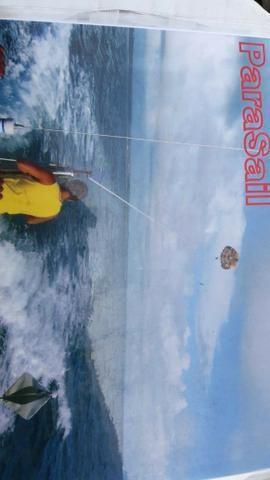 Parasail 26 pés com cadeira e 50 m corda, novo - Foto 7