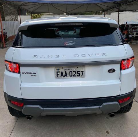 Range Rover Evoque Branca Interior Caramelo - Foto 2